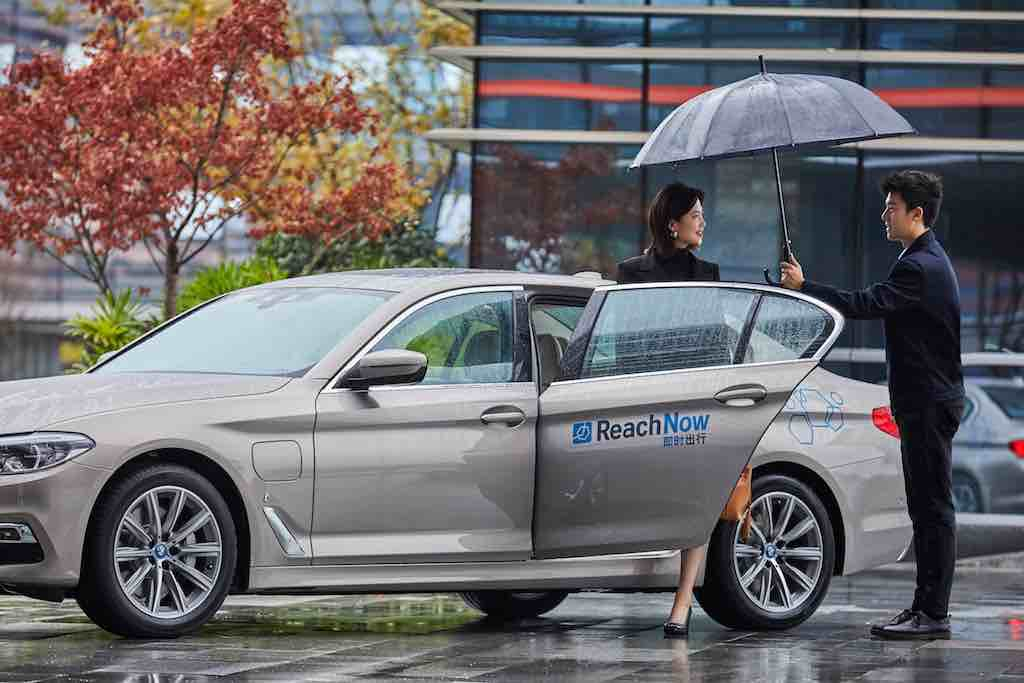 BMW baut sein ReachNow Carsharing-Geschäft in China aus