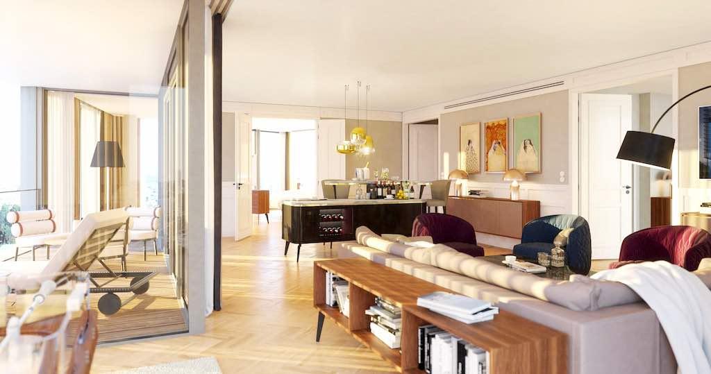 Die Penthouse Suite im Andaz Vienna Am Belvedere eröffnet neue Blicke auf Wien