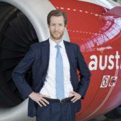 Austrian Airlines CEO Alexis von Hoensbroech, (Foto: Michèle Pauty)
