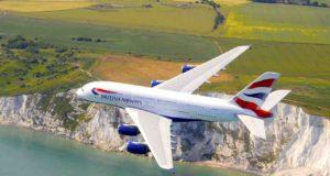 Mit British Airways geht es jetzt dreimal täglich von München nach London über die Cliffs von Dover (Foto: Neil Frazer, British Airways)