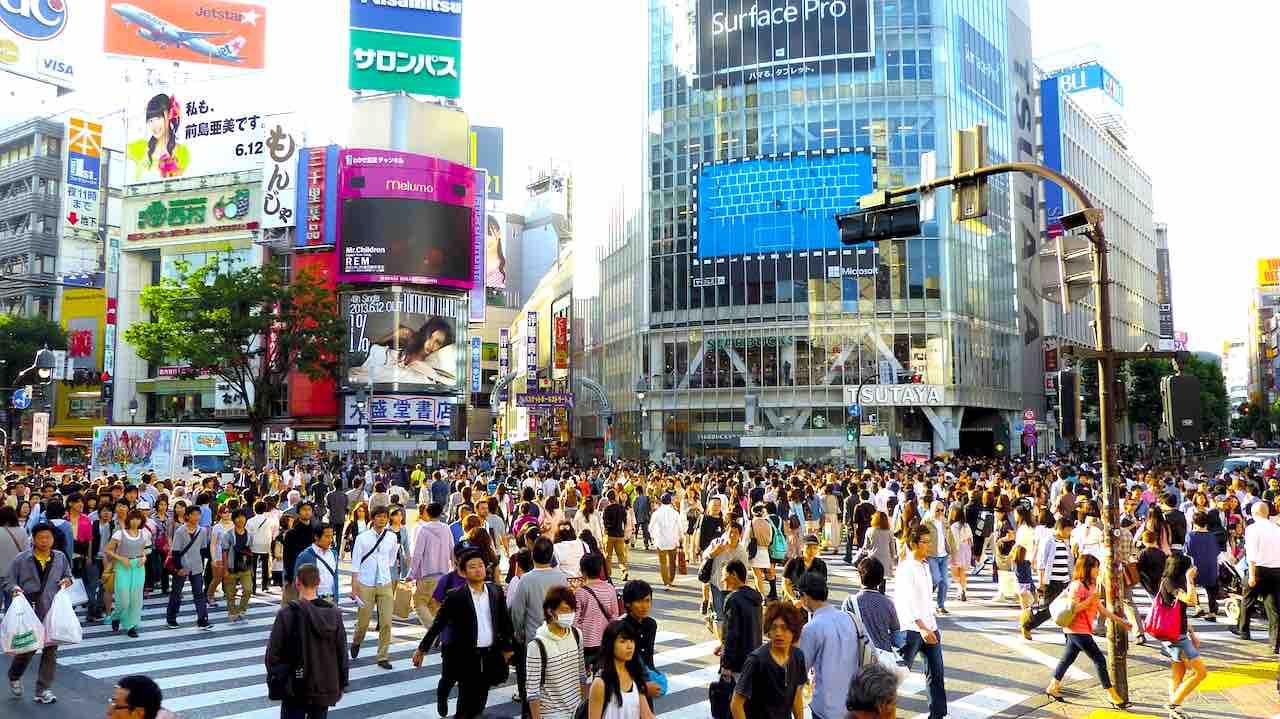Tokio ist mit seinen über neun Millionen Einwohnern die bevölkerungsreichste Metropole Japans (Foto: Jason Goh, Pixabay)