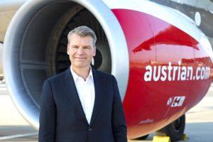 Austrian CCO Andreas Otto (Foto: Michèle Pauty, Austrian Airlines)