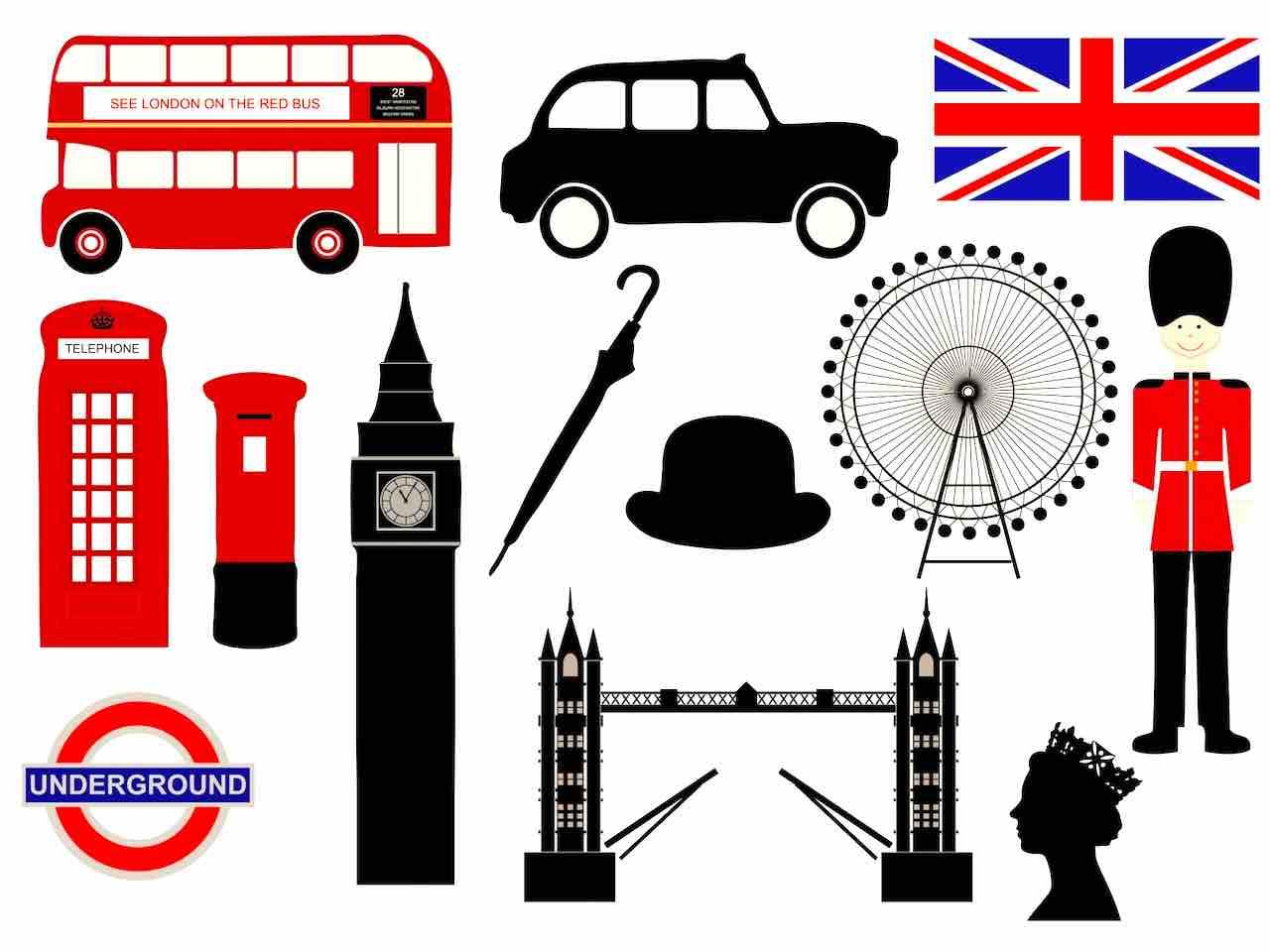 Hot Spot London: Hier spielt die Musik, hier werden die meisten Geschäfte gemacht (Grafik Karen Arnold, Pixabay)