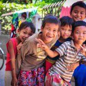 Glückliche Kinder in Myanmar (Foto: Pixabay)