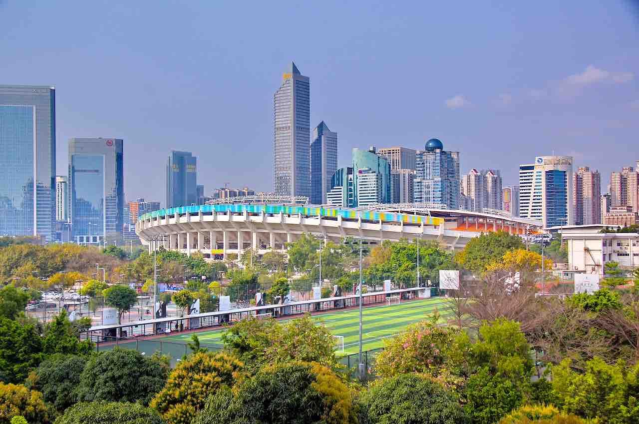 """Guangzhou ist Hauptstadt der Provinz Guangdong sowie ein bedeutender Industrie- und Handelsstandort. Die Region wird auch als """"Fabrik der Welt"""" bezeichnet (Foto: Huramaul, Pixaby)"""