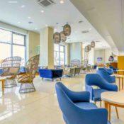 Grünes Hotel am Schwarzen Meer: Lobbybereich Maritim Hotel Albena