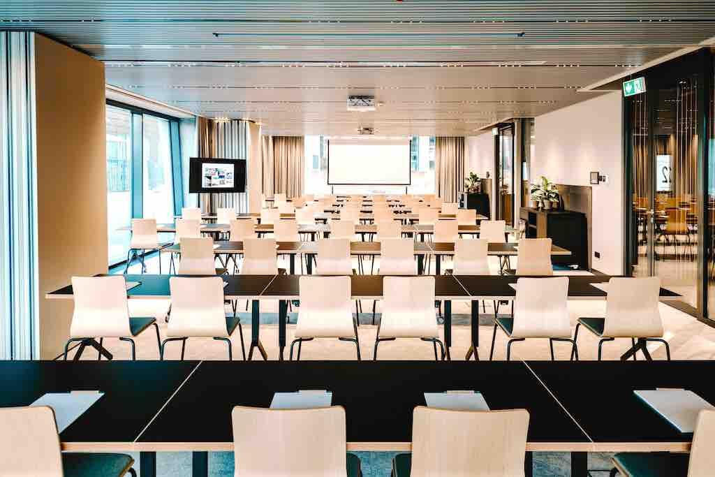 Neues Hotel Vienna House Mokotow für Geschäftsreisende in Warschau: Der Konferenzbereich ist teilbar und umfasst mehr als 180 qm (Foto: © Vienna House)