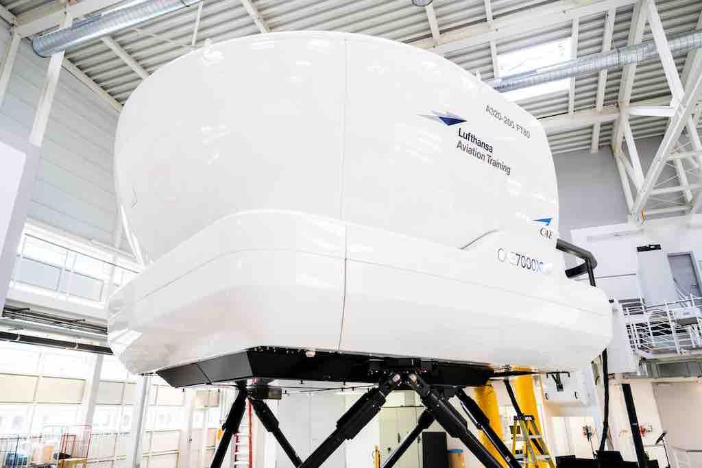 Airbus A320 Simulator im Lufthansa Aviation Trainingszentrum für Piloten (Foto: LAT)