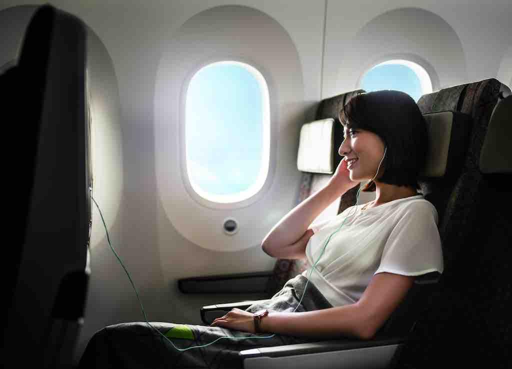 Economy Class im Dreamliner bietet neues Flugerlebnis