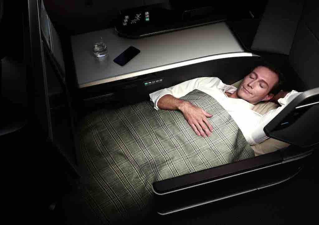 In der Royal Laurel Class im Dreamliner lässt sich gut träumen
