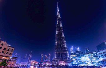 Der Burj Khalifa, das derzeit höchste Gebäude der Welt, steht in Dubai City (Foto: Bild von Jan Vašek auf Pixabay)