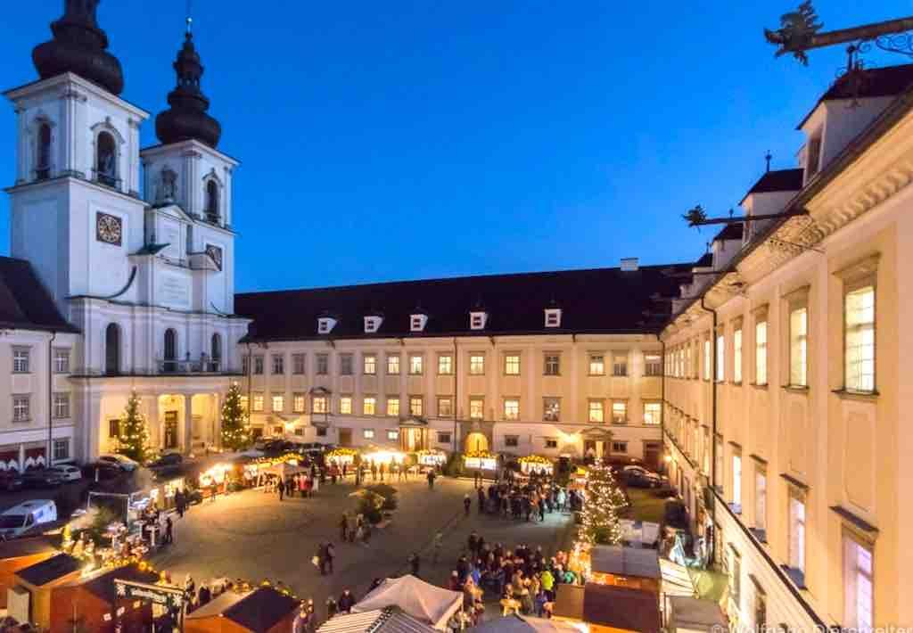 Stift Kremsmünster: Hier findet für zwei Tage im Dezember ein faszinierender Adventmarkt