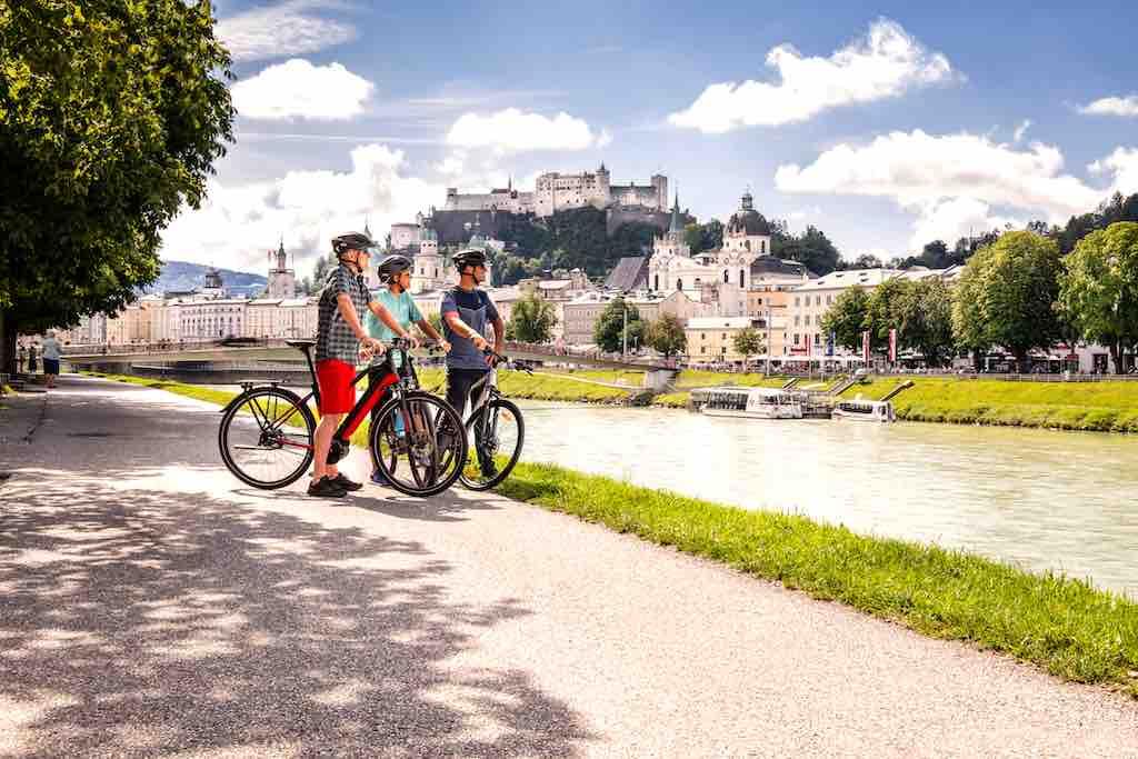 Auf dem neuen Online-Portal können Radfahrer quer durch Europa nach Genuss-Radtouren suchen (Foto: Rupert Muehlbacher)