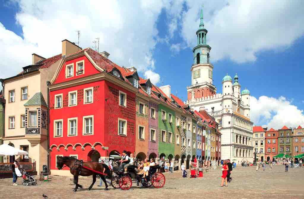 MICE-Destination Poznan: Die historische Altstadt rund um den Alten Markt ist das Schmuckstück von Posen