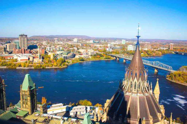 Ottawa ist die Bundeshauptstadt von Kananda und Regierungssitz (Foto: Edna Rabago, Pixabay)
