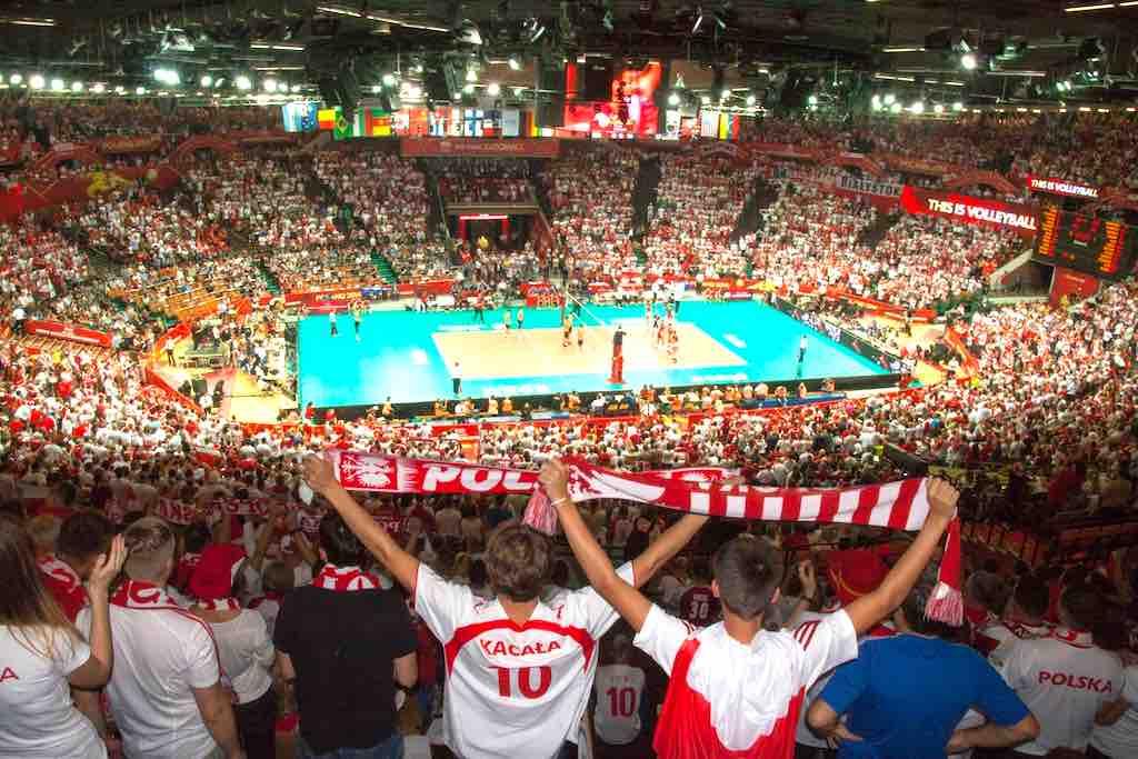 Große nationale und international Kultur- und Sportveranstaltungen werden in der Mehrzweckarena Spodek in Katowice abgehalten (Foto: UMK)