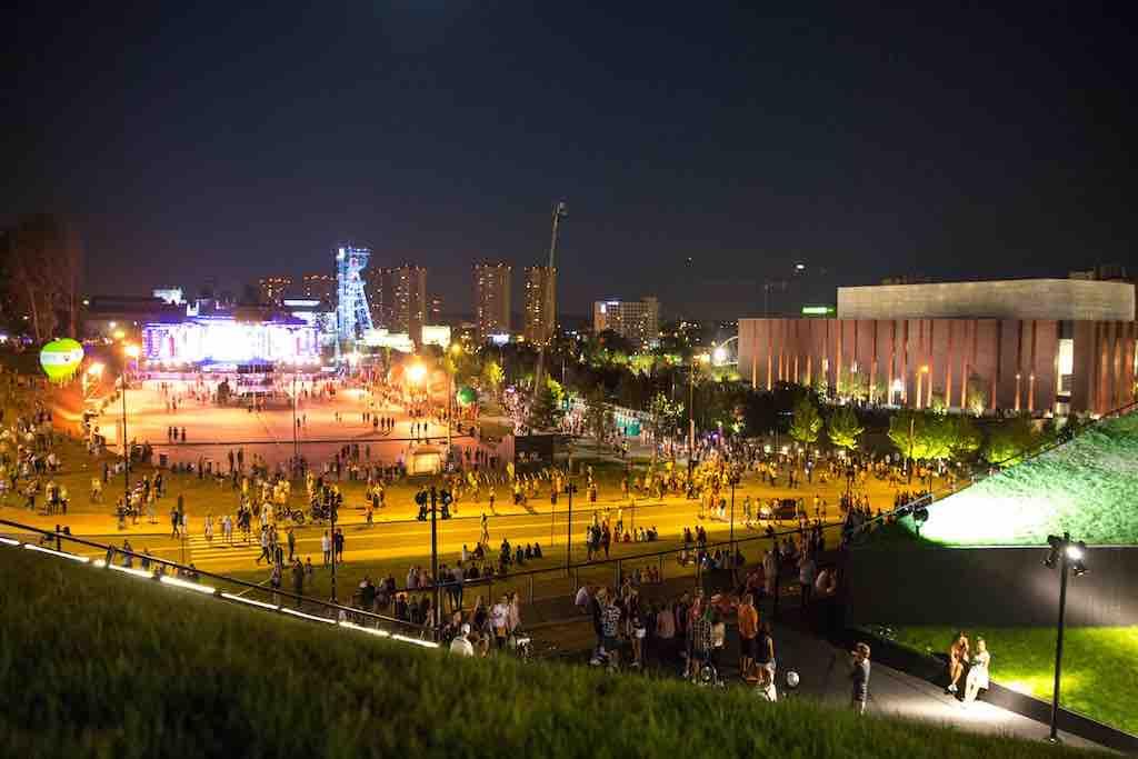 Strefa Kultury: Die beliebte Kulturzone für diverse Veranstaltungen in Katowice (Foto: UMK)