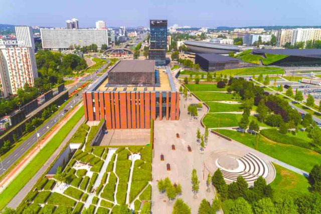 Die ehemalige polnische Industrie- und Bergbaumetropole Katowice ist heute eine begehrte Destination für Planer von Kongressen, Tagungen und Events (Foto: UMK)