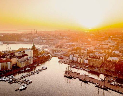Mit Finnair nach Helsinki fliegen