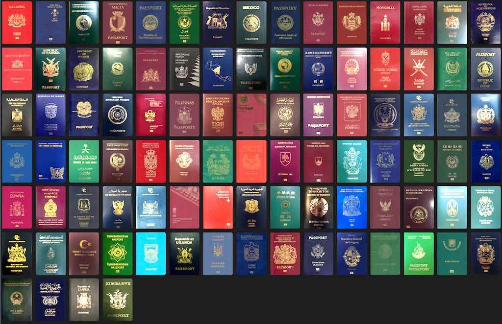 ... von Malaysia  bis Zimbawe bezüglich der Weltoffenheit bewertet (Foto: Passport Index)