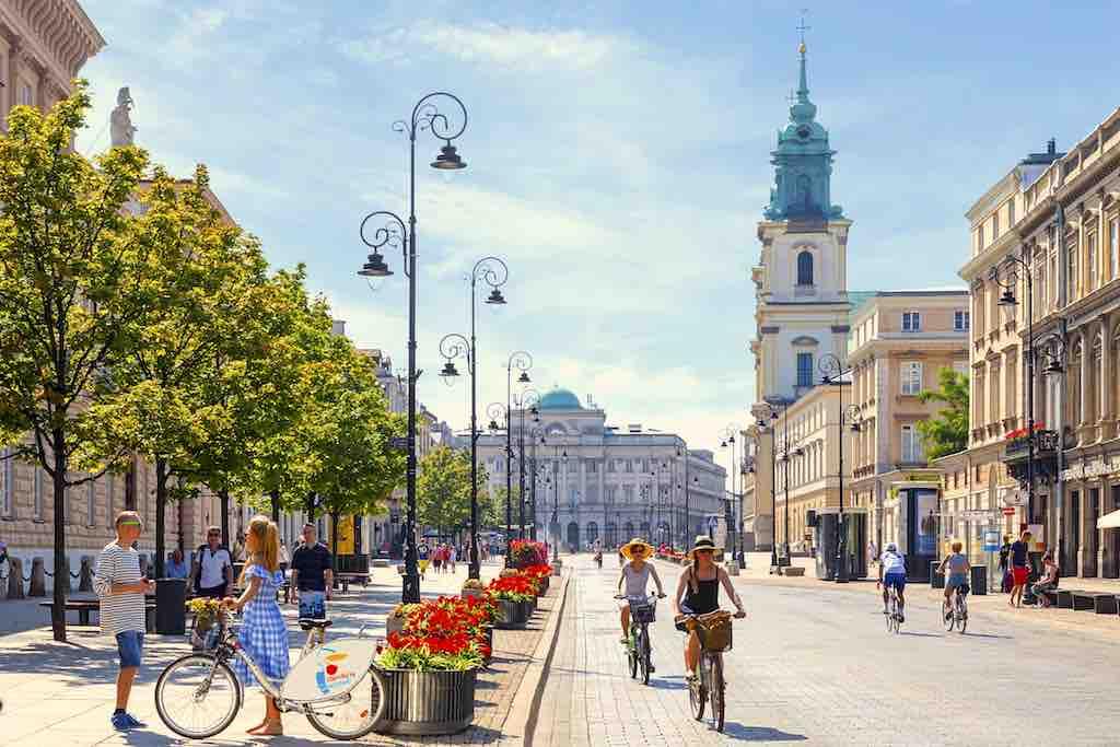 Warschau auf Radwegen näher kennenlernen und entdecken (Foto: M.St. Warszawa)