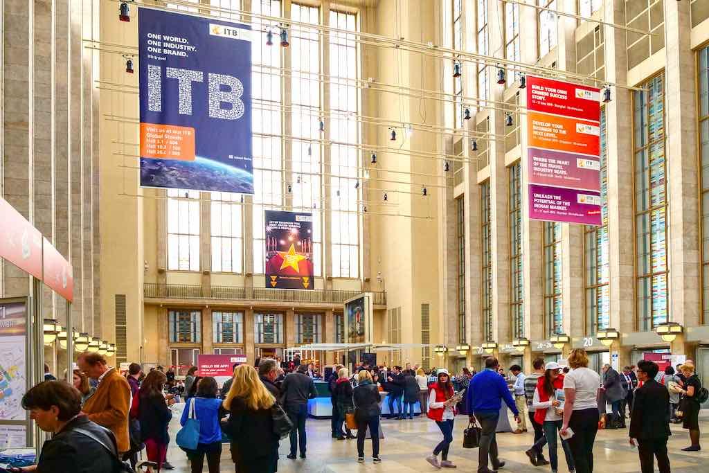 Die neuesten Reisetrends im Tourismus werden auf der größten Tourismusmesse in Berlin präsentiert (Foto: ITB Berlin)