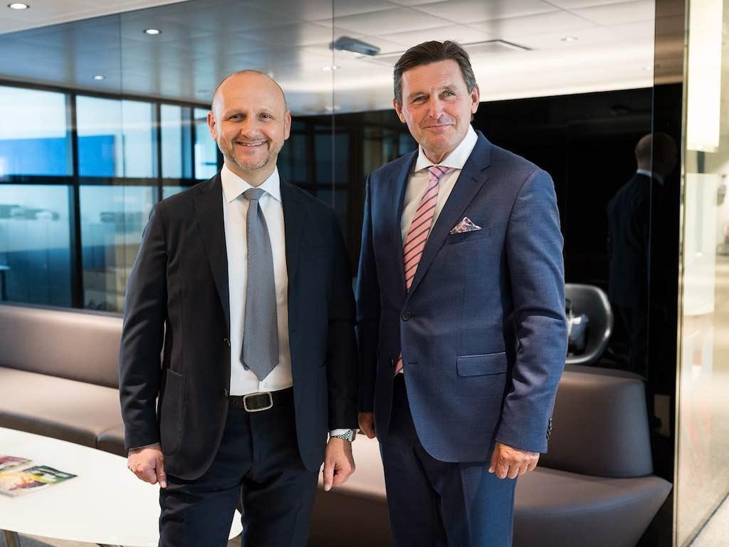 Zwei Top-Manager sorgen für volle und neue Hotels in Wien: Tourismuschef Norbert Kettner und der Finanz- und Wirtschaftsstadtrat Peter Hanke (Foto: © PID, David Bohmann)