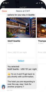 Messaging Service vereinfacht Hotelbuchungen