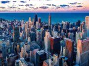 Chicago, am Lake Michigan in Illinois gelegen, ist eine der größten Städte in den USA mit den schönsten und aufregendsten Wolkenkratzern. Sie ist eine Metropole der Kunst und Kultur (Foto: David Mark, Pixabay)
