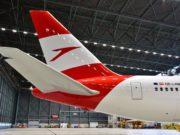 Austrian Airlines streicht wegen der dramatischen Corona-Krise reguläre Flüge und muss ihre Flieger grounden (Foto: Austrian Airlines, Hannes Winter)