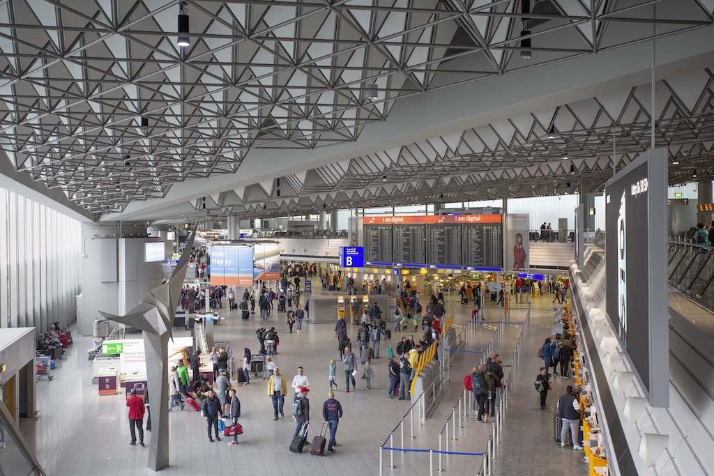 Ab 7. April werden alle Check-in-Prozesse im Terminal 1 Halle B gebündelt (Foto: Fraport AG)