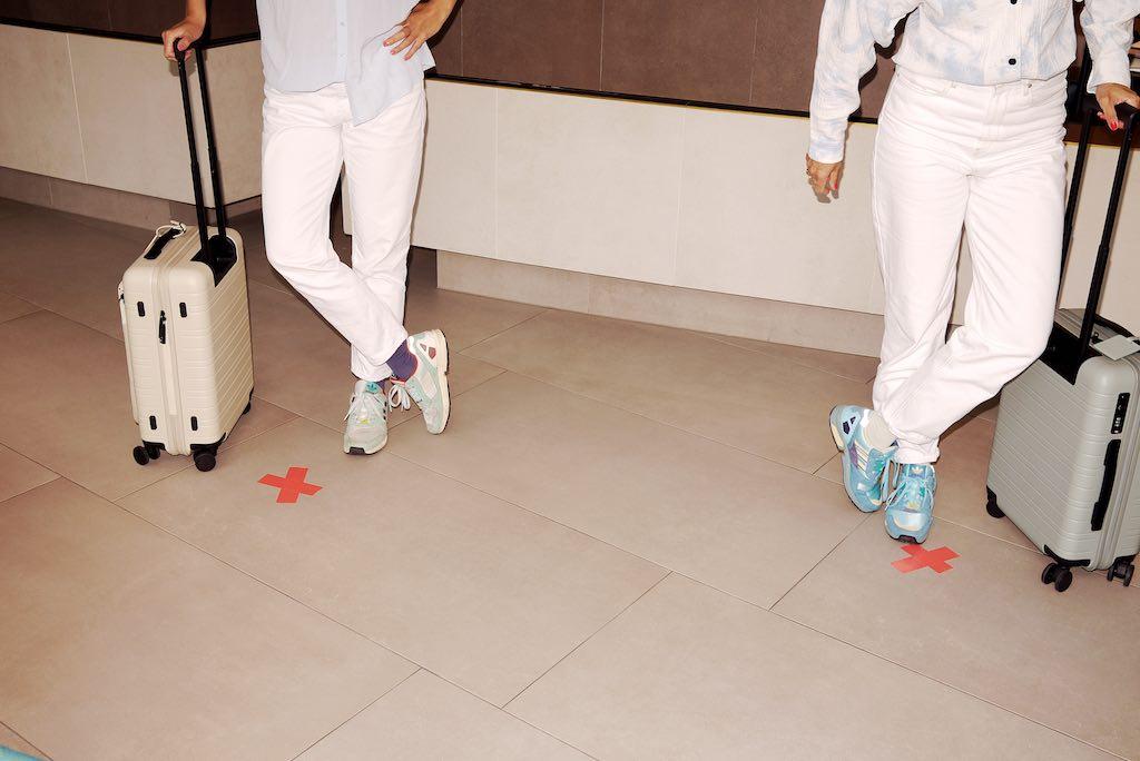 Sicherheitsabstand wird zum neuen Hygienestandard in allen Hotels (Foto: © Fleming's Hotels)