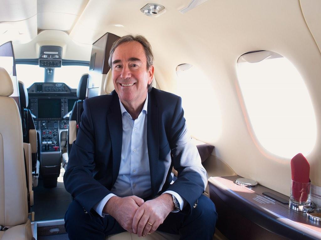 """Arcus Air Group Geschäftsführer Alejandro Tapia Haarmann: """"Die Nachfrage für Privatjets ist groß"""""""
