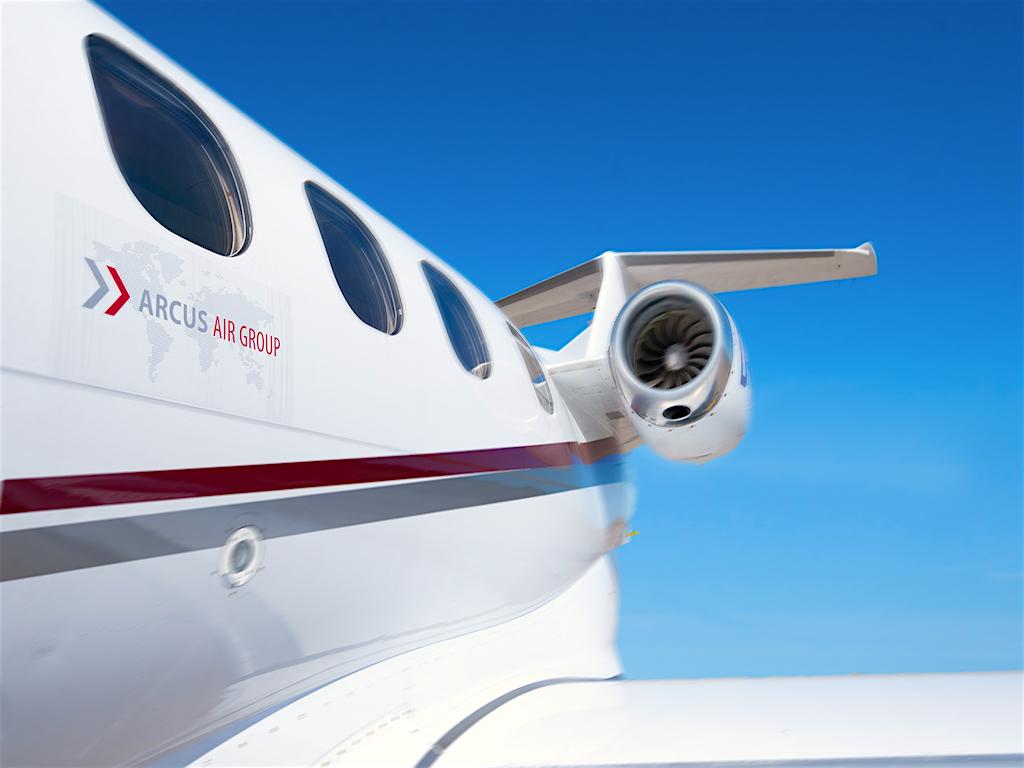 Das Luftfahrtunternehmen verfügt über sieben Maschinen vom Typ Embraer Phenom 100