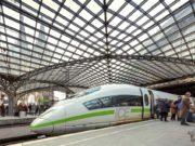 Ob Köln, Berlin, Hamburg oder München: Auf innerdeutschen Strecken schnappt die Deutsche Bahn den Fluglinien immer mehr Passagiere weg (Foto: Deutsche Bahn AG, Axel Hartmann)