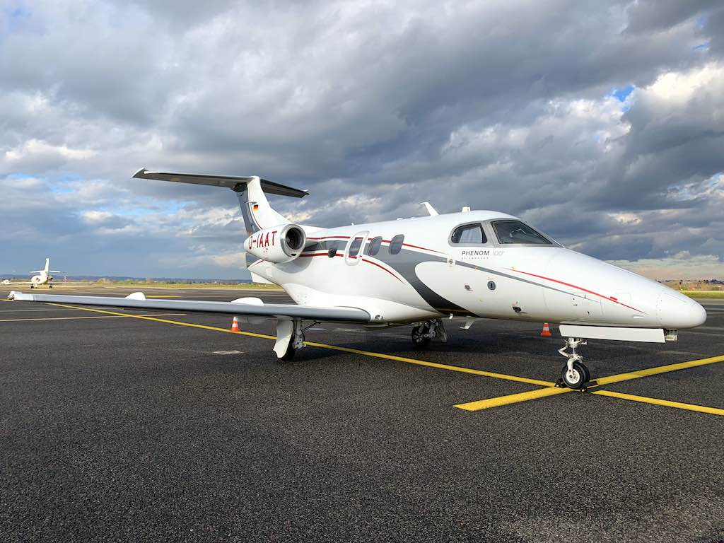 Das Flugunternehmen aus Zweibrücken hat Geschäfts- und Privatreisende im Focus. Geflogen wird mit modernem Jet Phenomen 100 zu jedem gewünschten Ziel in Europa