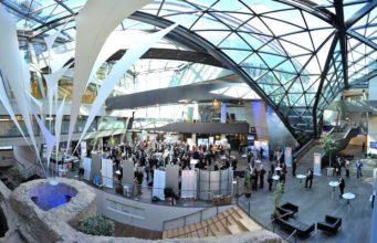 Ob das Wissenschafts- und Kongresszentrum in Darmstadt oder die Tourismusmesse ITB: Das Geschäftsreiseziel Deutschland muss sich auf die Folgen der Corona-Krise einstellen (Foto: DZT, Holger Ullmann)