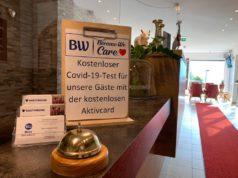 Fokus auf Hygiene und Sicherheit: Umfassende Schutzkonzepte in allen BWH-Hotels. Das Panoramahotel Talhof in Wängle bei Reutte, Tirol, bietet Gästen kostenfreie Covid-19-Tests an, sodass negativ getestete Heimkehrer die 14-tägige Quarantänepflicht umgehen können