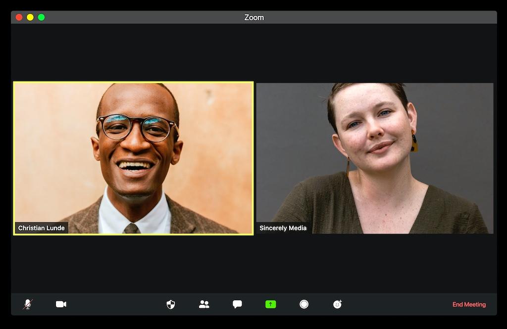 Beim virtuell kommunizieren muss einiges beachtet werden (Foto: Visuals, Unsplash)