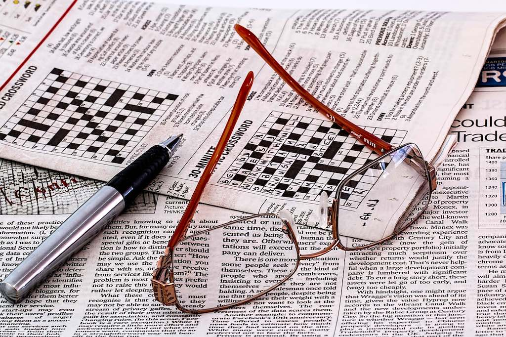Auf Geschäftsreisen zwischendurch Rätsel auflösen bringen die grauen Zellen (Foto: Pixabay)