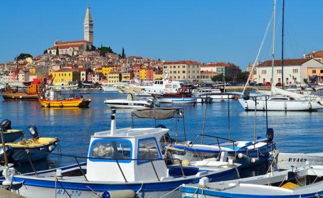 Rovinj ist auch derzeit in der Pandemie das beliebteste Reiseziel in Kroatien (Foto: Lars Hoffmann, Pixabay)