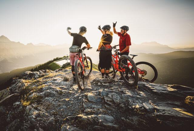Mit dem Mountainbike die Alpenwelt entdecken