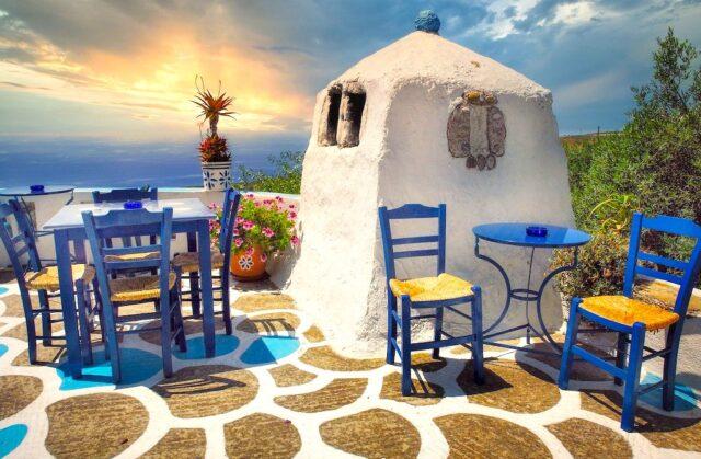 Hochrisikogebiete in Griechenland
